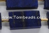 CNL1520 15.5 inches 20*30mm - 25*35mm rectangle lapis lazuli beads