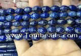 CNL1683 15.5 inches 8*11mm - 8*12mm rice lapis lazuli beads