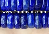 CNL1695 15.5 inches 3*9mm - 4*9mm rondelle lapis lazuli beads