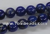 CNL216 15.5 inches 10mm round A+ grade natural lapis lazuli beads