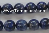 CNL218 15.5 inches 12mm round natural lapis lazuli beads wholesale