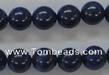 CNL220 15.5 inches 12mm round natural lapis lazuli beads wholesale