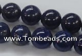 CNL232 15.5 inches 14mm round natural lapis lazuli beads wholesale