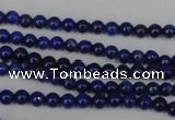 CNL400 15.5 inches 3mm round natural lapis lazuli gemstone beads