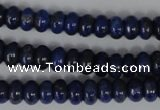 CNL422 15.5 inches 5*8mm rondelle natural lapis lazuli gemstone beads