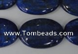 CNL486 15.5 inches 20*30mm oval natural lapis lazuli gemstone beads