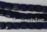 CNL510 15.5 inches 8*8mm square natural lapis lazuli gemstone beads