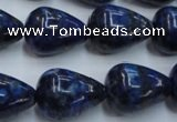 CNL619 15.5 inches 15*20mm teardrop natural lapis lazuli gemstone beads