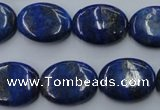 CNL754 15.5 inches 15*20mm oval natural lapis lazuli gemstone beads