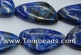 CNL778 15.5 inches 18*30mm freeform natural lapis lazuli gemstone beads