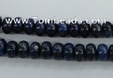 CNL862 15.5 inches 5*8mm rondelle natural lapis lazuli gemstone beads