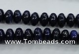 CNL863 15.5 inches 6*10mm rondelle natural lapis lazuli gemstone beads