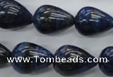 CNL904 15.5 inches 15*20mm teardrop natural lapis lazuli gemstone beads