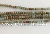 CNS700 15.5 inches 4mm round serpentine jasper beads wholesale
