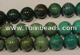 CNT106 15.5 inches 10mm round natural turquoise beads wholesale
