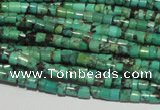 CNT216 15.5 inches 2.5*3mm heishi natural turquoise beads wholesale