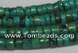 CNT219 15.5 inches 3*4mm � 4*5mm heishi natural turquoise beads