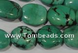CNT266 15.5 inches 18*20mm nuggets natural turquoise beads wholesale