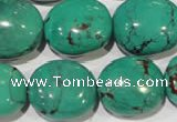 CNT268 15.5 inches 18*20mm - 22*26mm nuggets natural turquoise beads