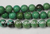 CNT352 15.5 inches 8mm round turquoise beads wholesale