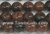 COB751 15.5 inches 6mm round mahogany obsidian beads wholesale