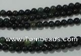 COJ300 15.5 inches 4mm round Indian bloodstone beads wholesale