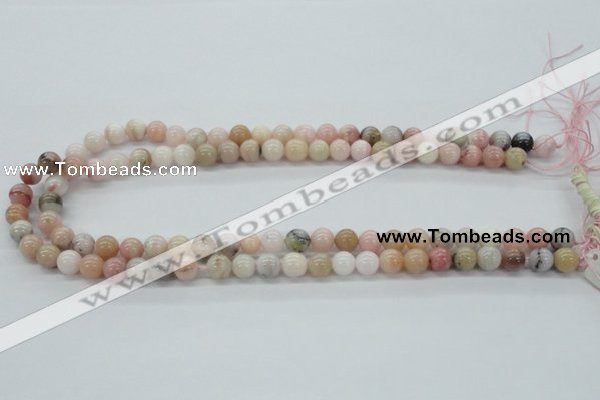 COP03 15.5 inches 8mm round natural pink opal beads wholesale