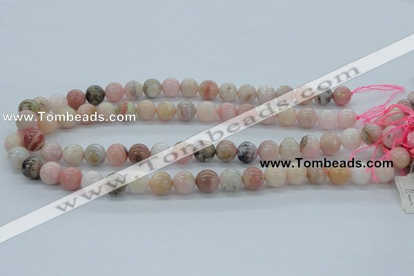 COP04 15.5 inches 11mm round natural pink opal beads wholesale