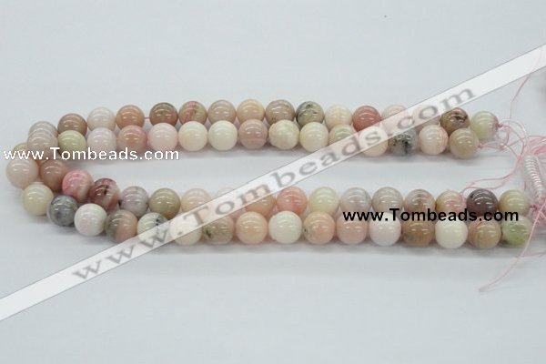 COP05 15.5 inches 12mm round natural pink opal beads wholesale