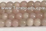 COP1240 15.5 inches 4mm round Chinese pink opal beads