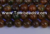 COP1361 15.5 inches 6mm round African green opal beads wholesale
