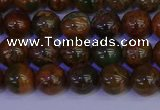 COP1362 15.5 inches 8mm round African green opal beads wholesale