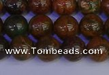 COP1363 15.5 inches 10mm round African green opal beads wholesale