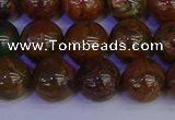 COP1364 15.5 inches 12mm round African green opal beads wholesale