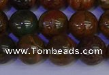 COP1365 15.5 inches 14mm round African green opal beads wholesale
