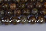 COP1371 15.5 inches 6mm round fire lace opal beads wholesale