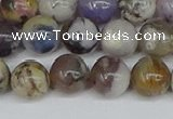 COP1513 15.5 inches 10mm round amethyst sage opal beads wholesale