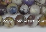 COP1514 15.5 inches 12mm round amethyst sage opal beads wholesale
