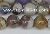 COP1515 15.5 inches 14mm round amethyst sage opal beads wholesale