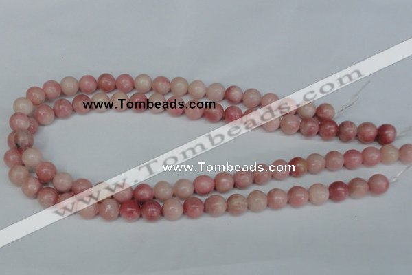 COP154 15.5 inches 12mm round pink opal gemstone beads wholesale