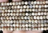 COP1660 15.5 inches 4mm round African opal beads wholesale
