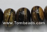COP206 15.5 inches 14*20mm rondelle natural brown opal gemstone beads