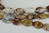 COP314 15.5 inches 8*12mm oval brandy opal gemstone beads wholesale