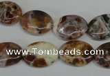 COP316 15.5 inches 13*18mm oval brandy opal gemstone beads wholesale