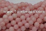COP402 15.5 inches 6mm round Chinese pink opal gemstone beads