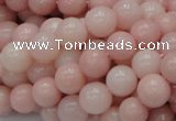 COP404 15.5 inches 10mm round Chinese pink opal gemstone beads