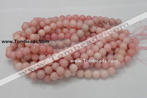 COP405 15.5 inches 12mm round Chinese pink opal gemstone beads