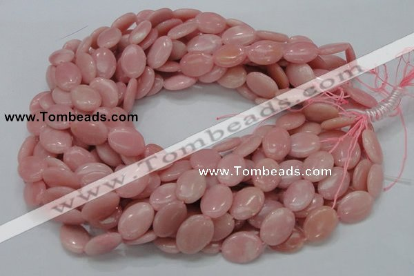 COP420 15.5 inches 18*25mm oval Chinese pink opal gemstone beads