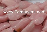 COP422 15.5 inches 14*25mm marquise Chinese pink opal gemstone beads
