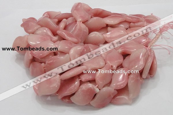 COP423 15.5 inches 18*30mm marquise Chinese pink opal gemstone beads